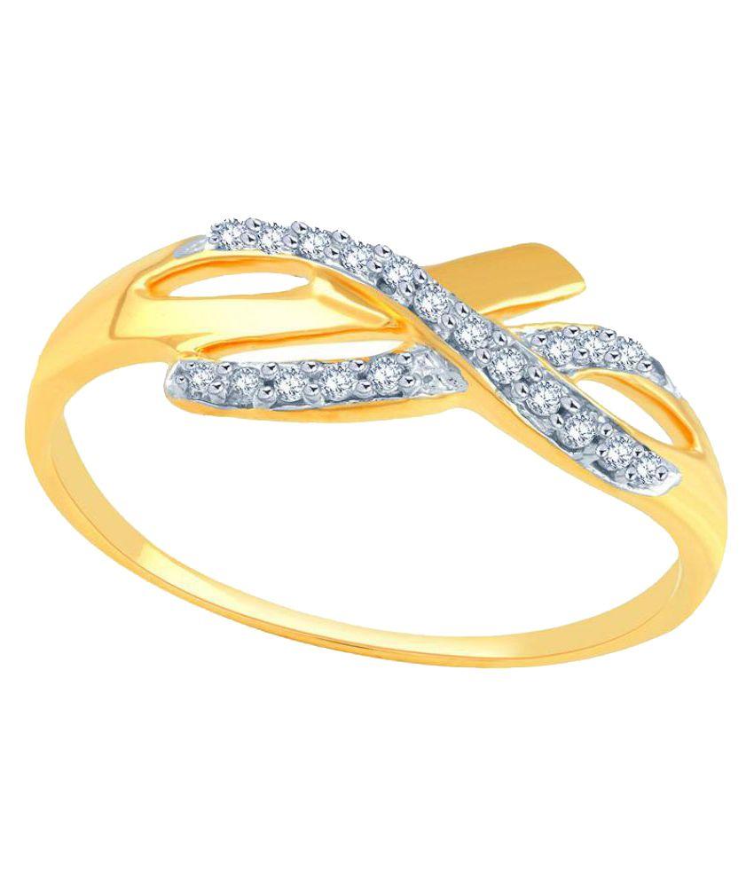 11 Diamonds 92.5 Silver Ring