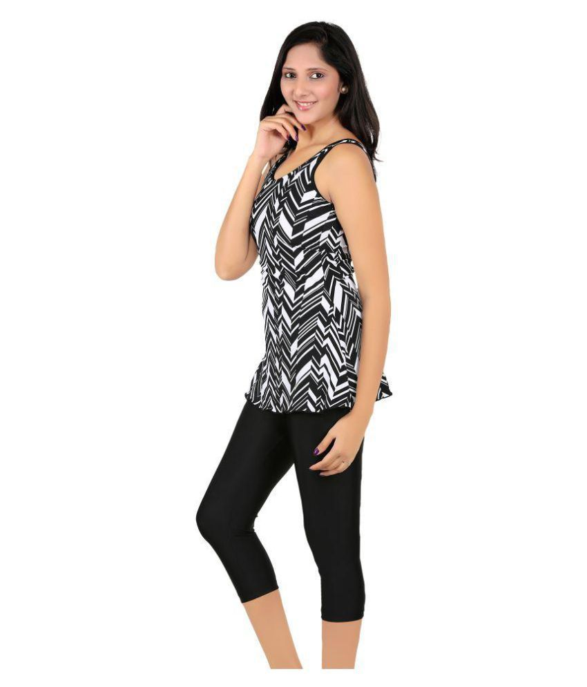 94fb6cc6c80 Buy Fashion Fever Cotton Lycra Swimwear Online at Best Prices in ...