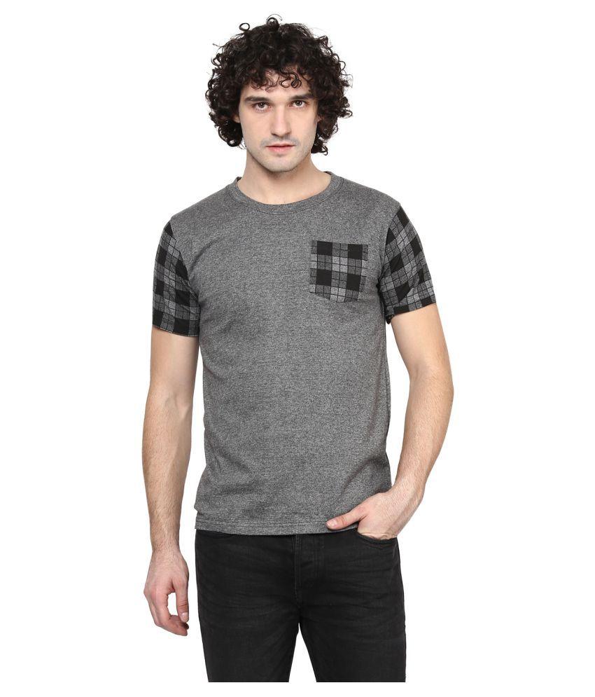Benoit Grey Round T-Shirt