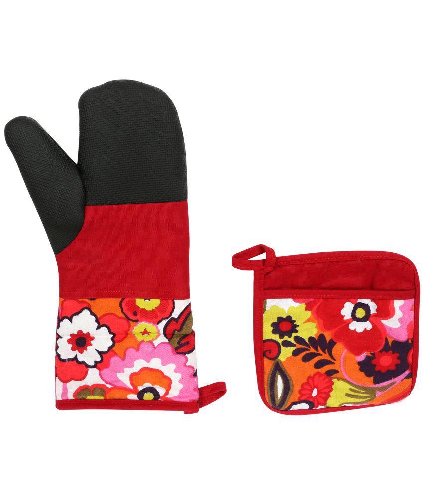 Cannon Multicolour Polyester Pot Holders - Set of 2