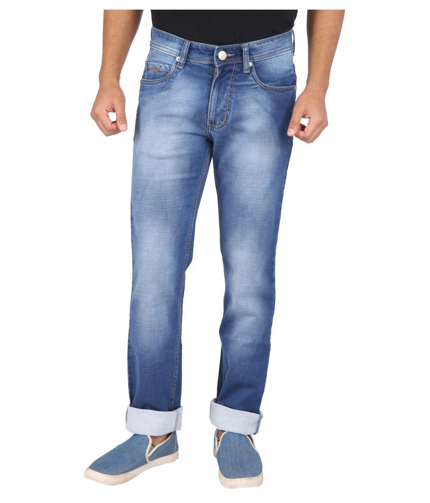 Wabba Blue Slim Jeans