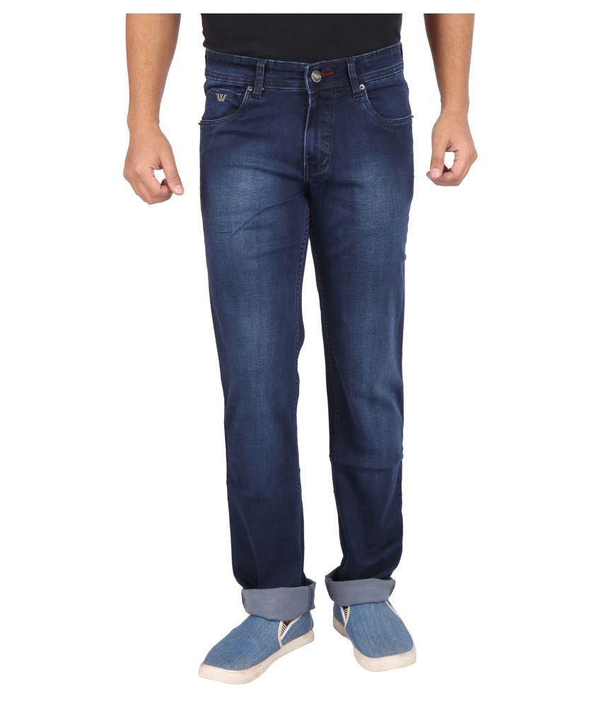Wabba Dark Blue Slim Jeans