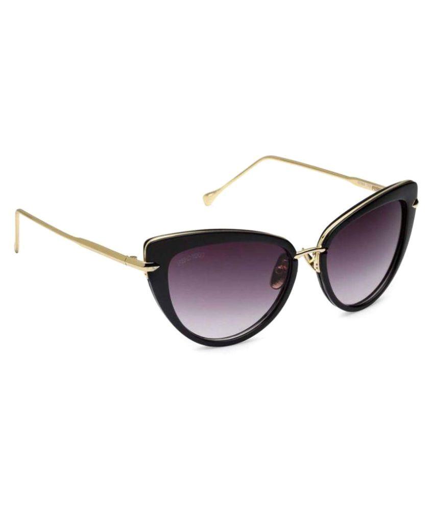Ferdeko Occhiali Purple Cat Eye Sunglasses