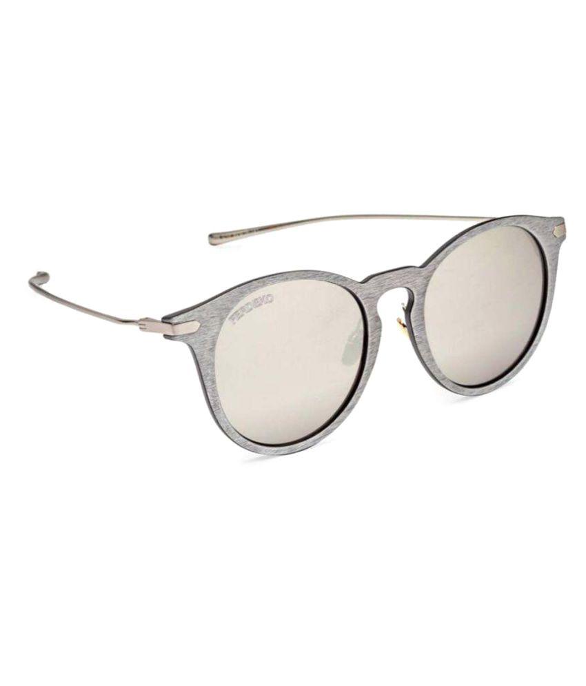 Ferdeko Occhiali Silver Cat Eye Sunglasses ( Steely Jax )