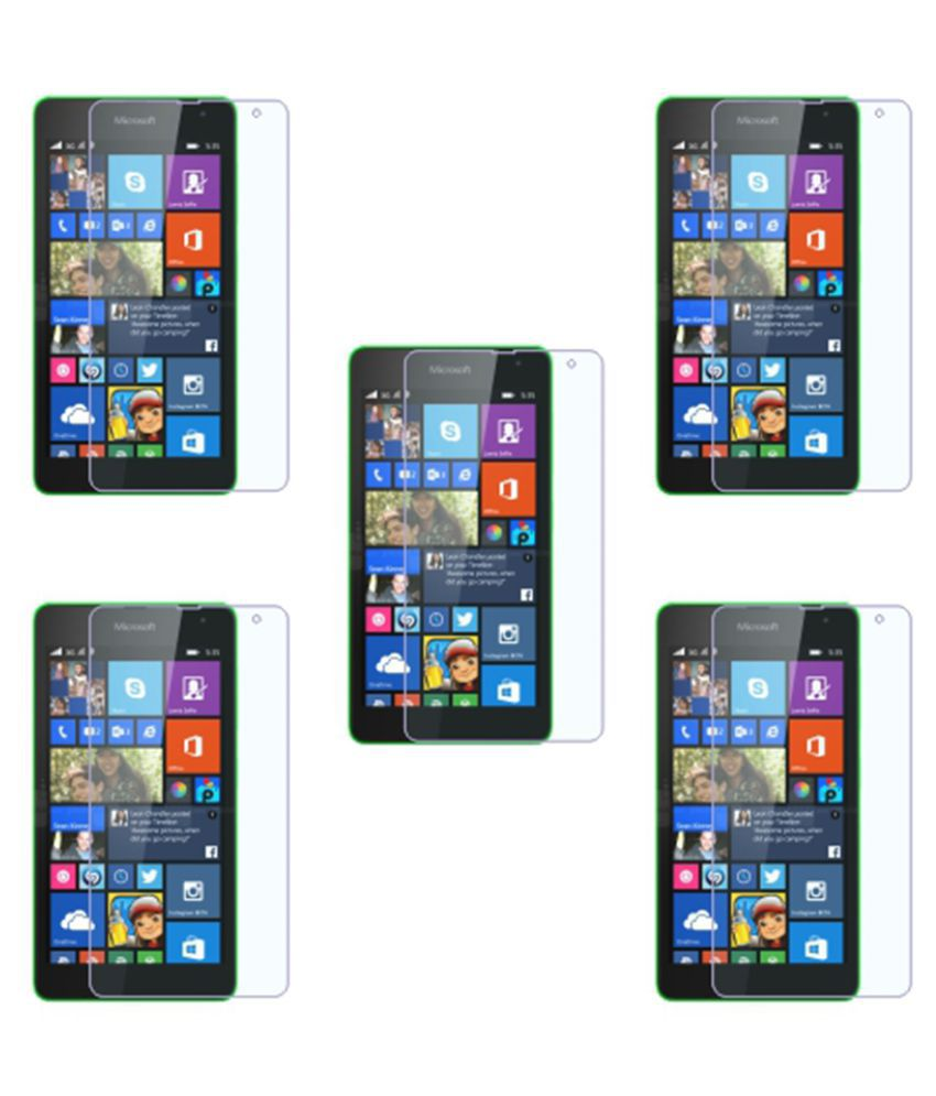 Microsoft Lumia 535 Tempered Glass Screen Guard By Via Flowers