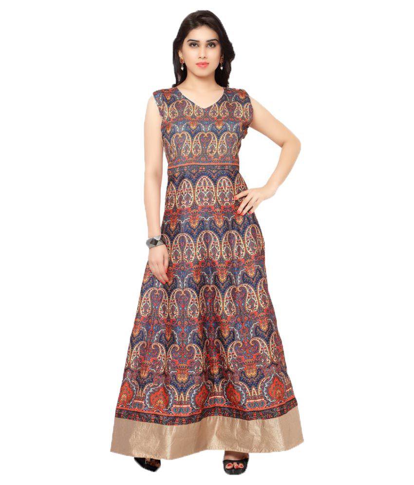 Fashion Gallery Silk Gown