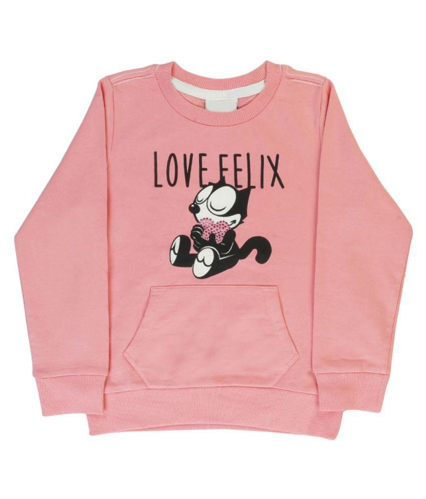 Indirang Light Pink Sweatshirt