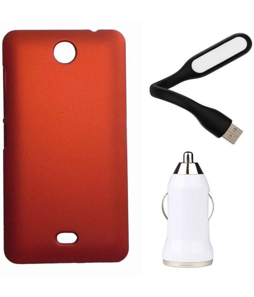 low priced a2443 70fe0 Microsoft Lumia 430 Cover by Toppings - Red