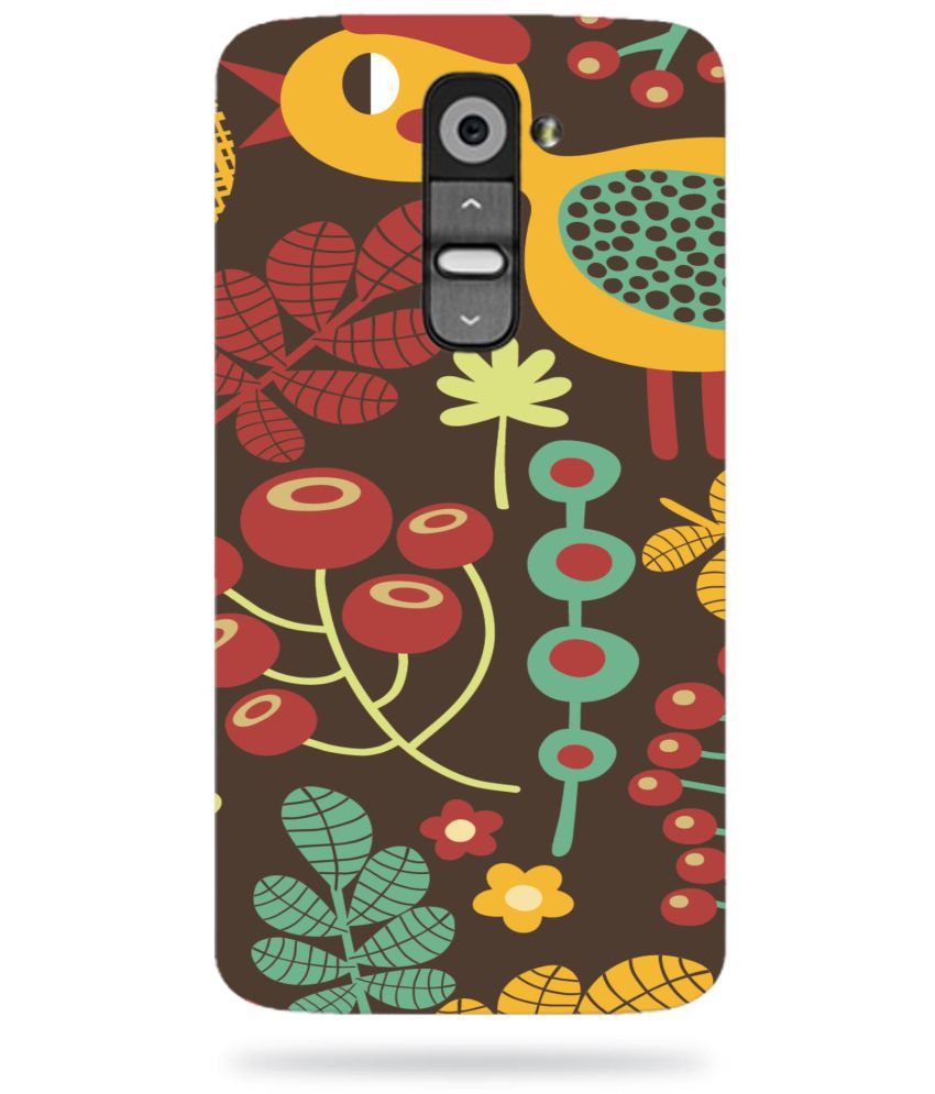 LG G2 Printed Cover By ALDIVO