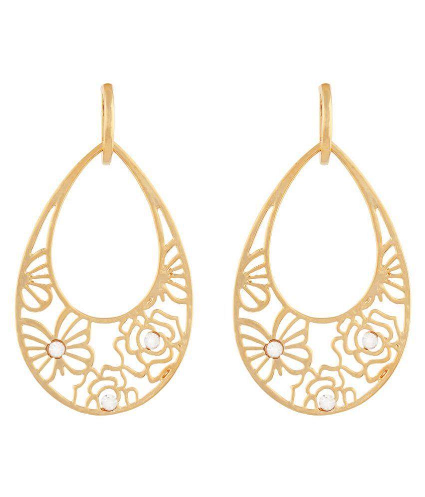 OSF Golden Hanging Earrings