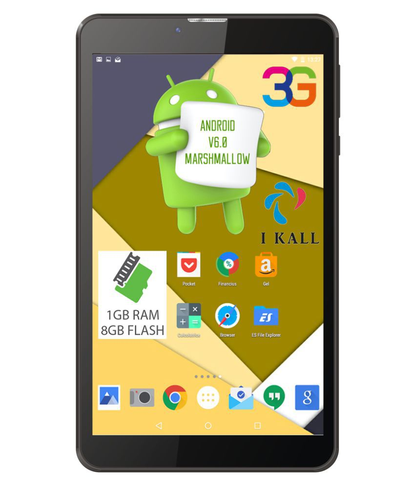 I Kall N9 Black ( 3G + Wifi , Voice calling ) Snapdeal Rs. 3599.00