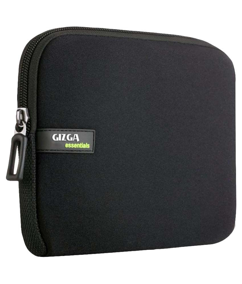 Gizga Essentials Black Laptop Sleeves