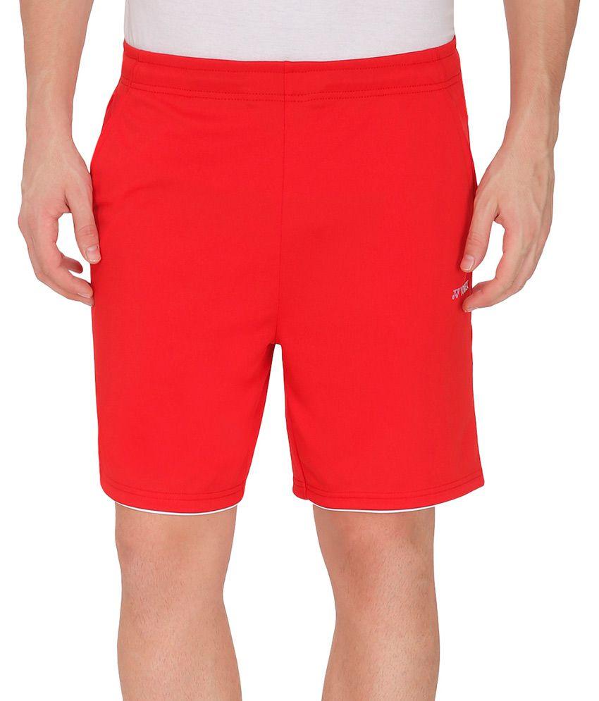 Yonex Red Shorts