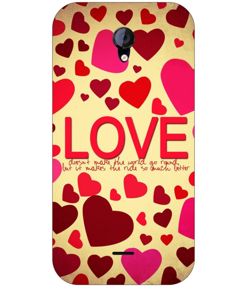 Micromax Canvas Unite 2 Printed Cover By Go Hooked