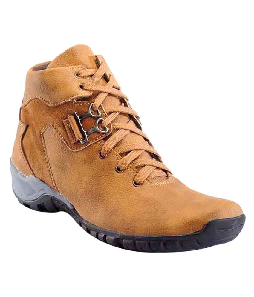 Rockdeal Tan Casual Boot