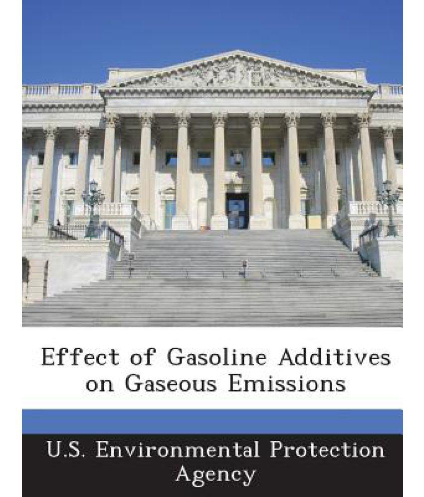 Effect of Gasoline Additives on Gaseous Emissions
