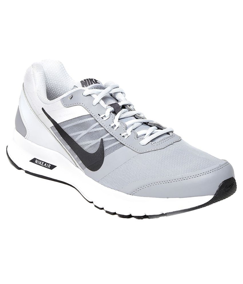 48b1908934e65 Nike Air Relentless 5 MSL Gray Running Shoes