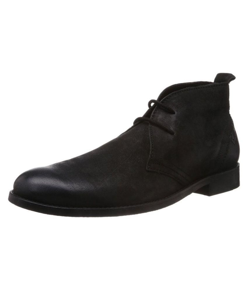 Ruosh Black Formal Boot