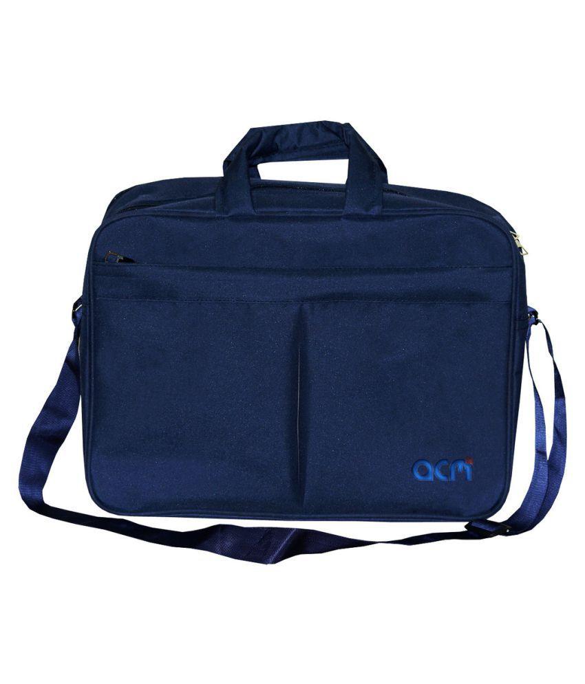 "ACM Macbook Air Mjve2hn/A 13"" Blue Polyester Office Bag"