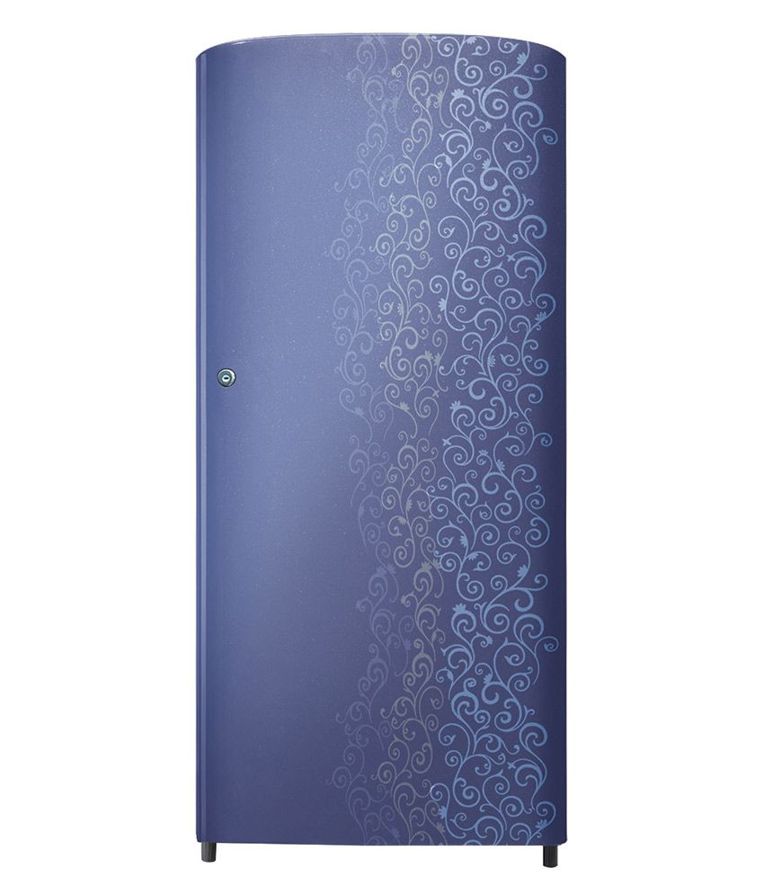 Samsung 192 Ltr 3 Star RR19J21C3VJ Single Door Refrigerator - Royal Violet Tendril [2016 Model]