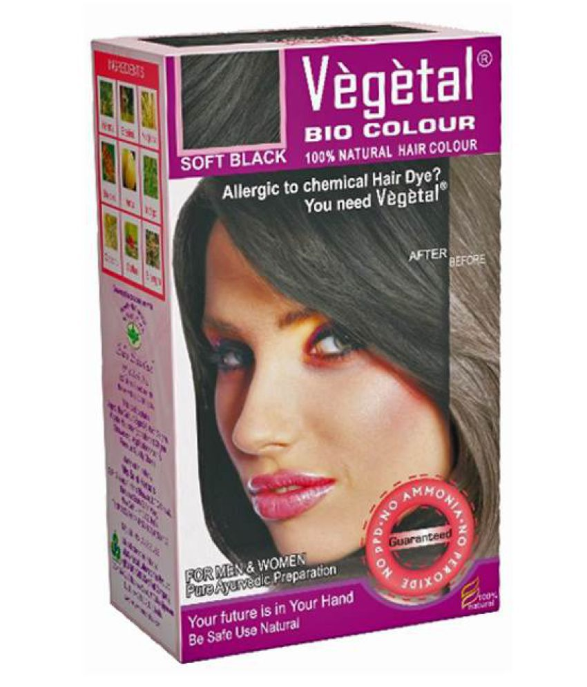 Vegetal Semi Permanent Hair Color Black 150 Gm At Best Prices In India Snapdeal