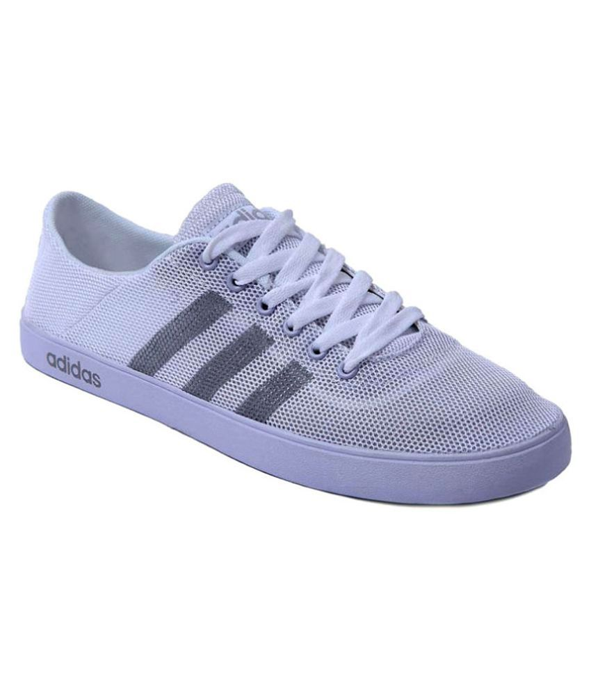 the latest 7b1eb 0d205 Adidas Neo White Casual Shoes - Buy Adidas Neo White Casual Shoes Online at  Best Prices in India on Snapdeal