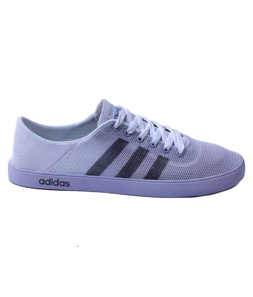 f7e3fd583765 Adidas Neo White Casual Shoes - Buy Adidas Neo White Casual Shoes Online at  Best Prices in India on Snapdeal