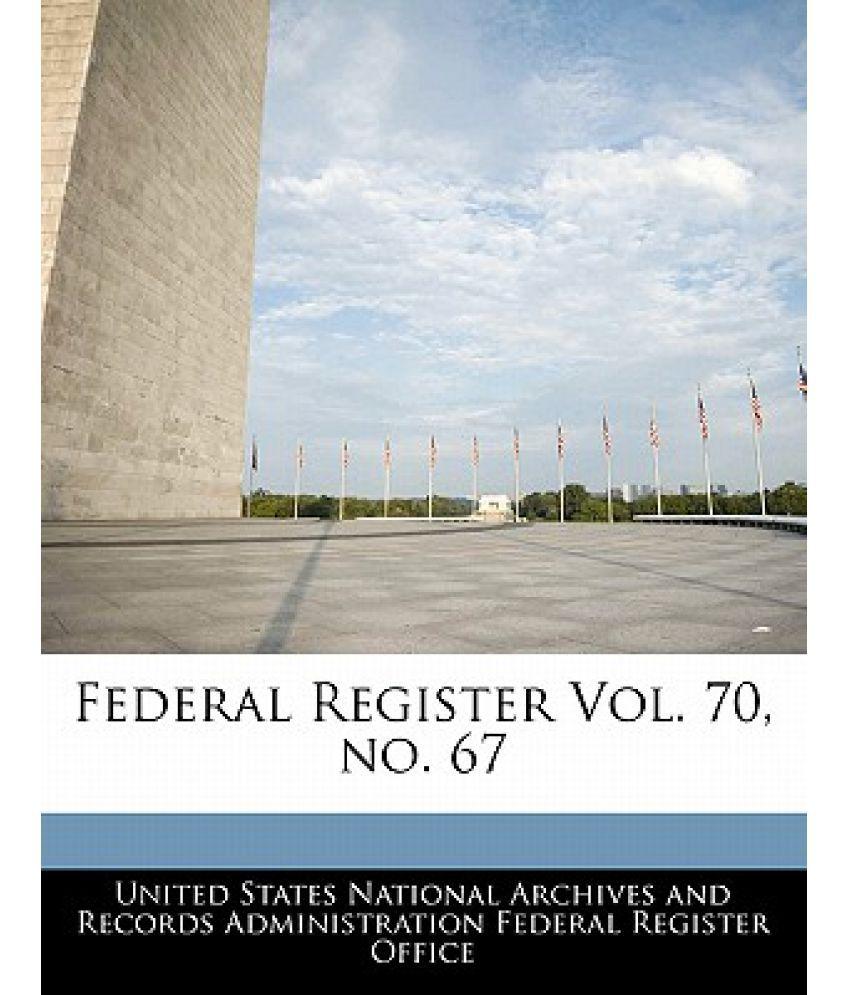 Federal Register Online