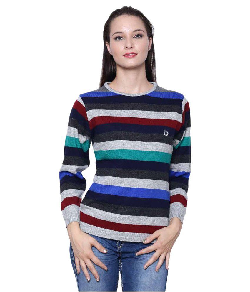 Leebonee Multi Color Acrylic Pullovers