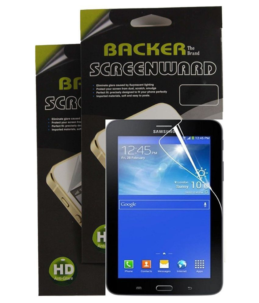 Samsung Galaxy S4 I9500 Clear Screen Guard By Backer The Brand