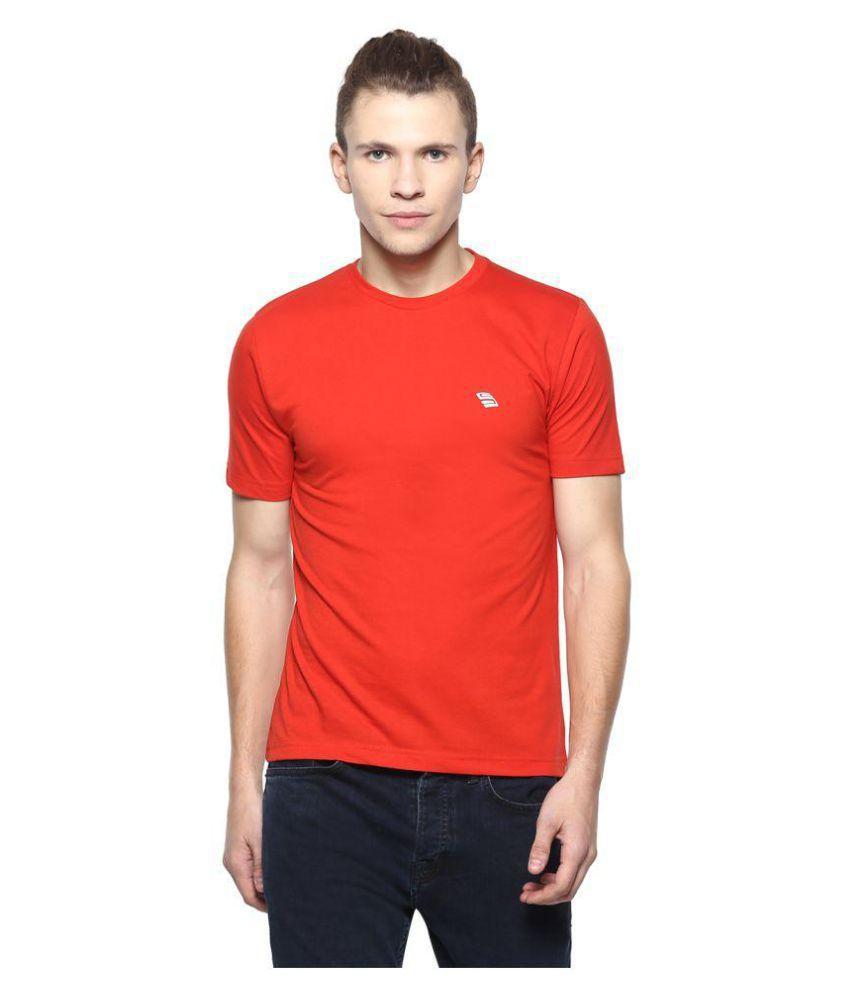 Skora Red Round T-Shirt