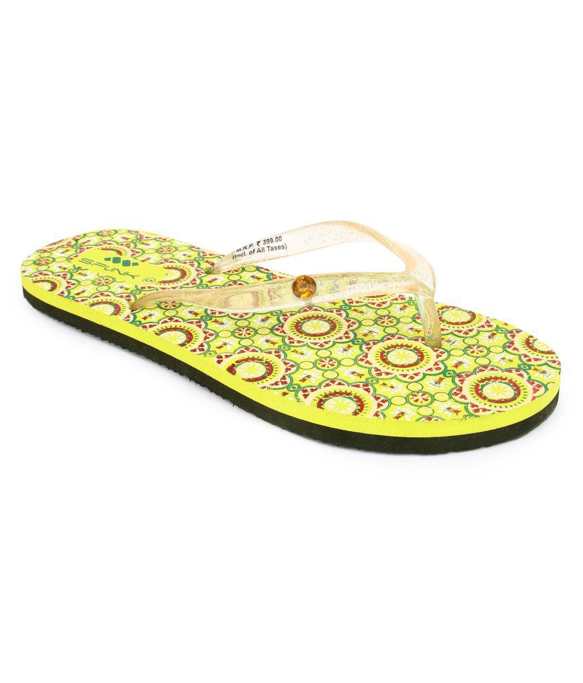 Spunk Green Slippers