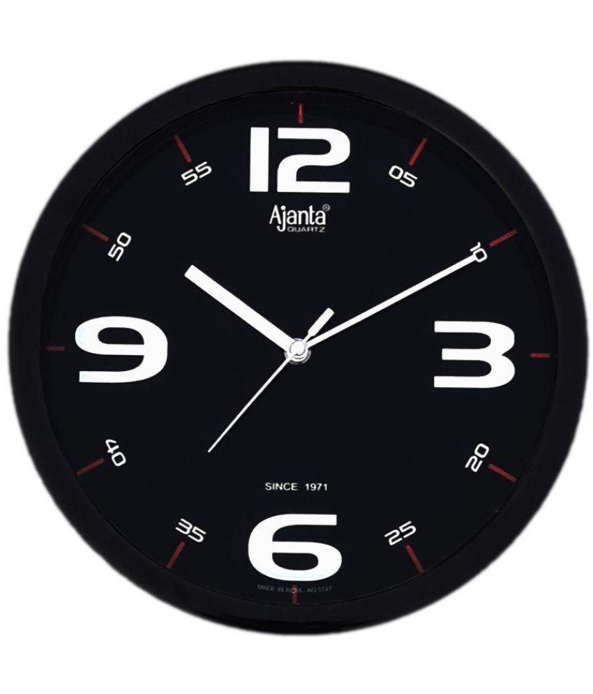 Ajanta circular analog wall clock sach retails aq 114 22 pack of ajanta circular analog wall clock sach retails aq 114 22 pack of 1 amipublicfo Images