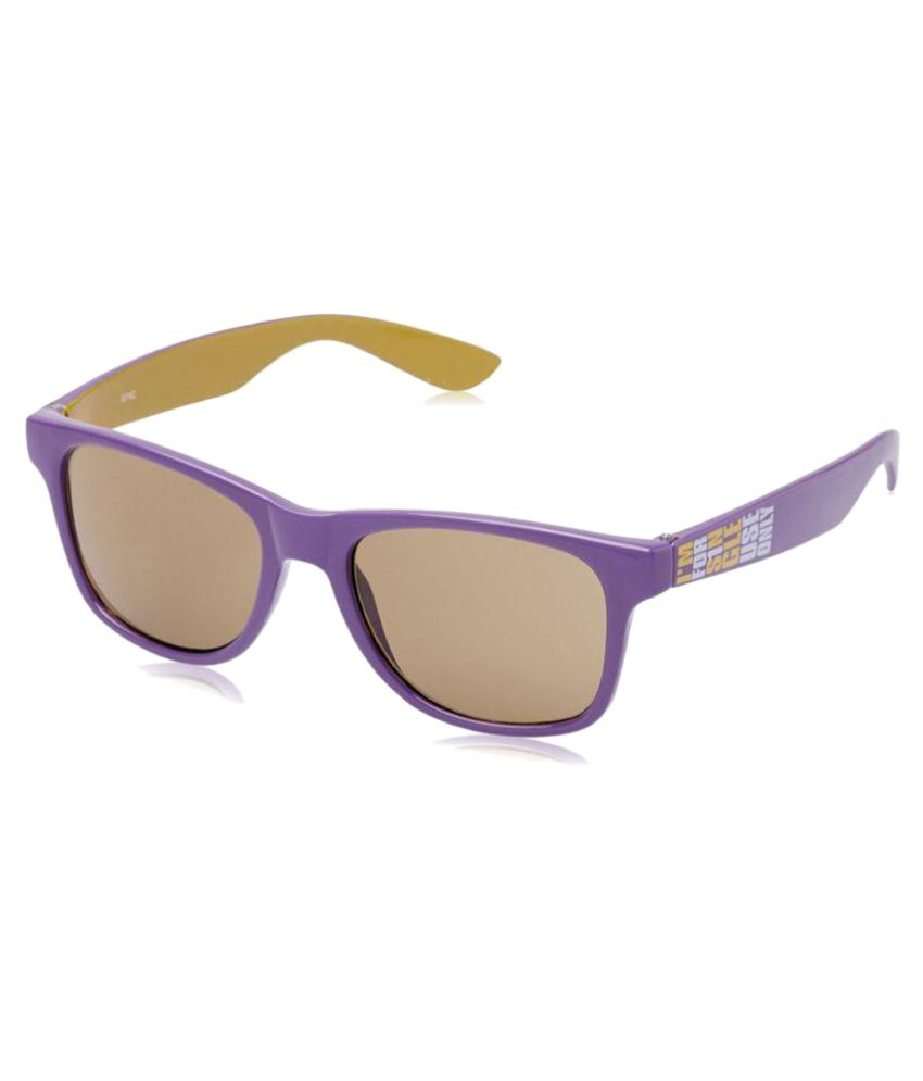 aab13bc0b3 Fastrack Brown Wayfarer Sunglasses ( PC002BR3 ) - Buy Fastrack Brown  Wayfarer Sunglasses ( PC002BR3 ) Online at Low Price - Snapdeal
