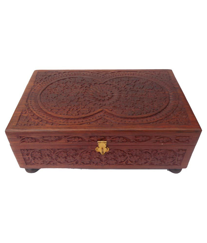 Handicraft Brown Bangle Box