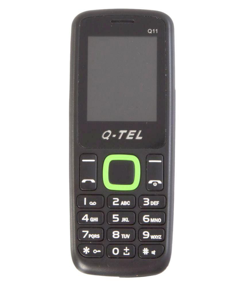 Q-TEL Q11GREEN 4GB and Below Green