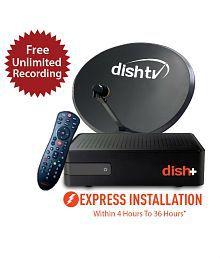 Dish TV SD+ Titanium Full On 1 month Subscription Free