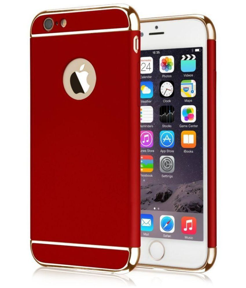 b8dabca49 Apple iPhone 5S Cover by KTC - Red - Plain Back Covers Online at Low Prices
