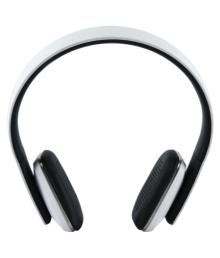 Echo Headons Over Ear Wireless Headphones With Mic White
