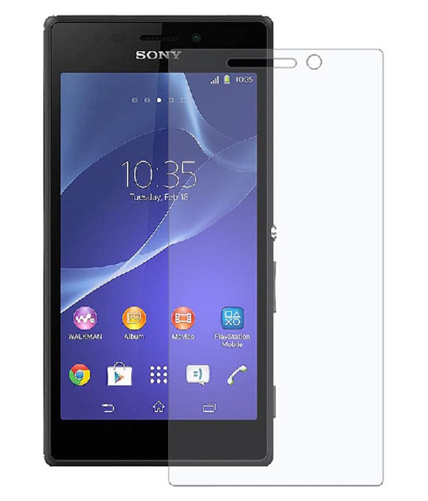 Sony Xperia C3 Tempered Glass Screen Guard By Crook