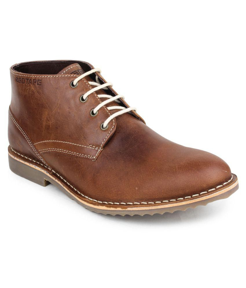 red tape brown casual boot buy red tape brown casual