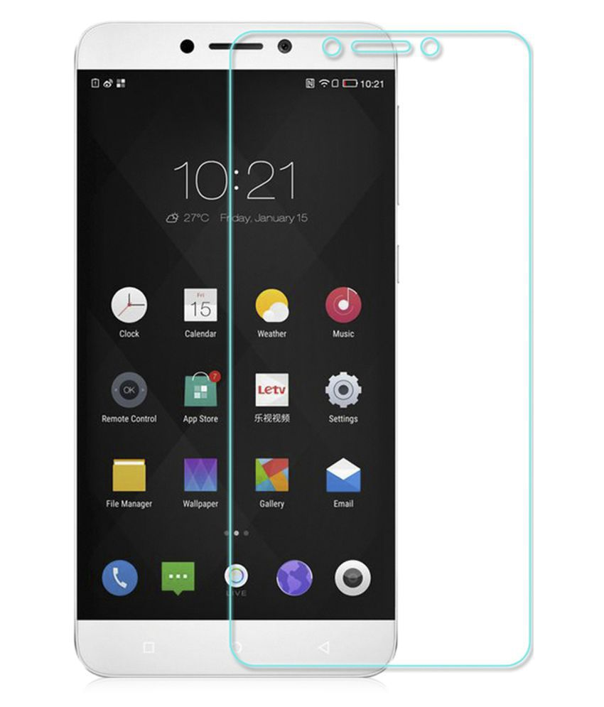 LeEco LeMax 2 Tempered Glass Screen Guard By Tempered glass hd
