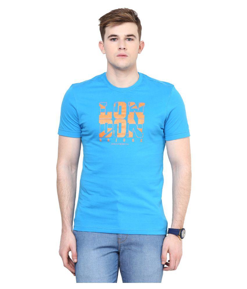 London Bridge Blue Round T-Shirt