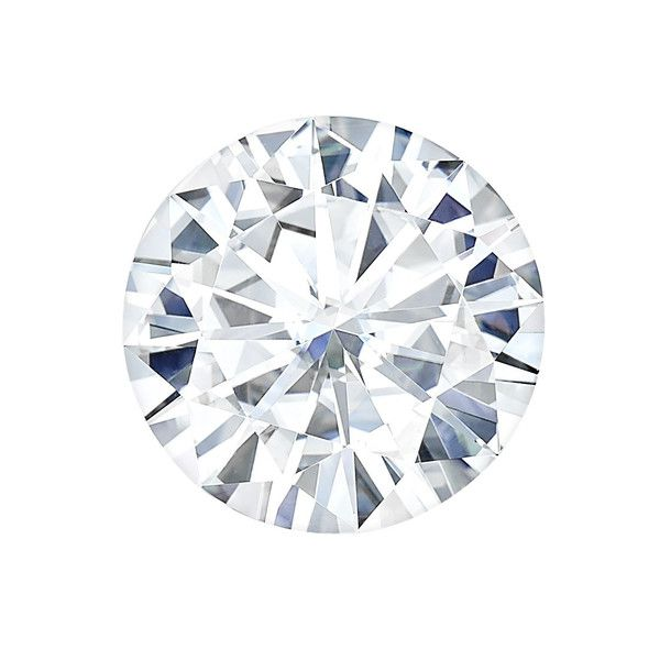 Charles & Colvard (USA) F-1 Round 6.5mm Moissanite Diamond