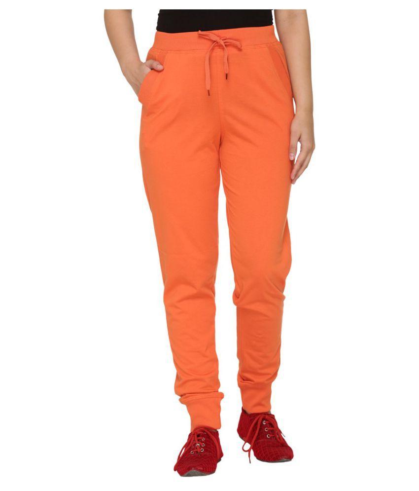 Colors & Blends Orange Cotton Pajamas