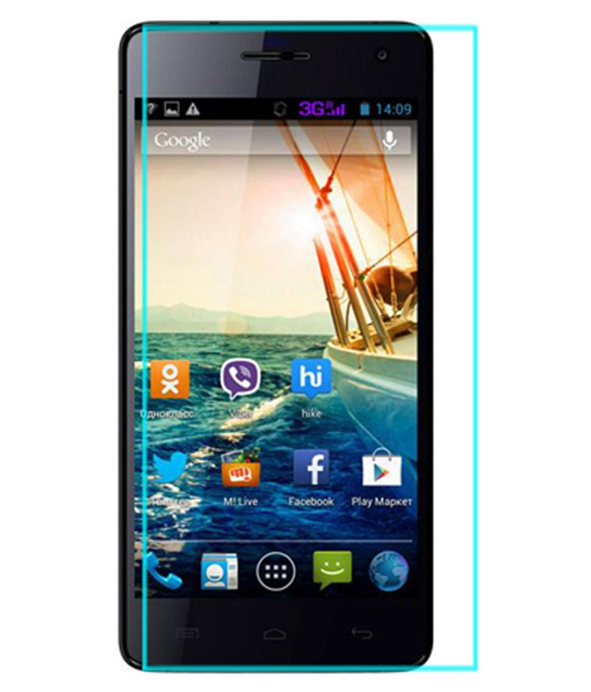 Micromax Canvas knight Tempered Glass Screen Guard By Tempered glass hd