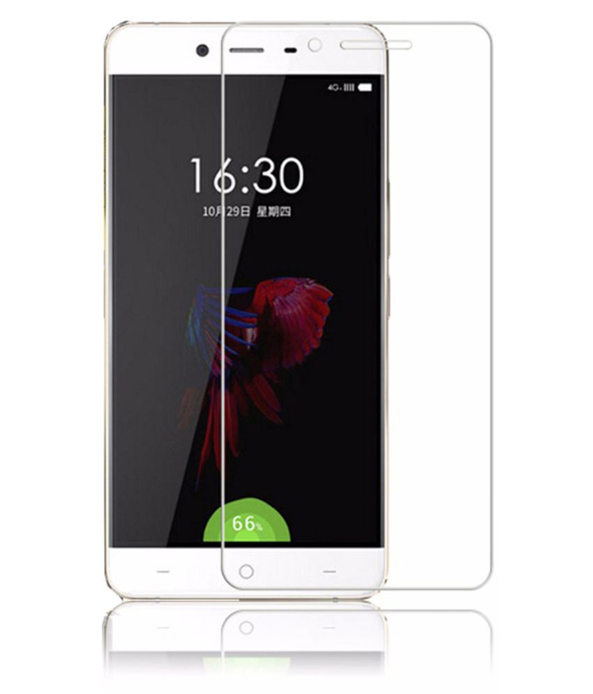 One Plus X Tempered Glass Screen Guard By Tempered glass hd