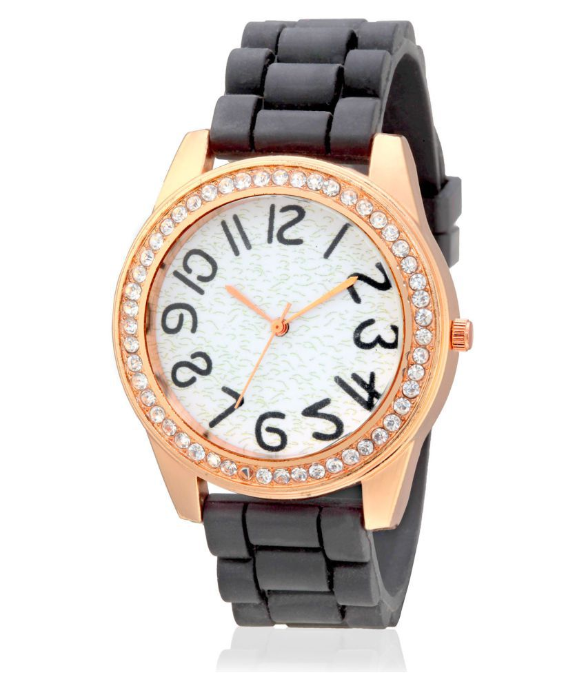 Geneva Collection White Dial Analog Watch for Women GNV 0015