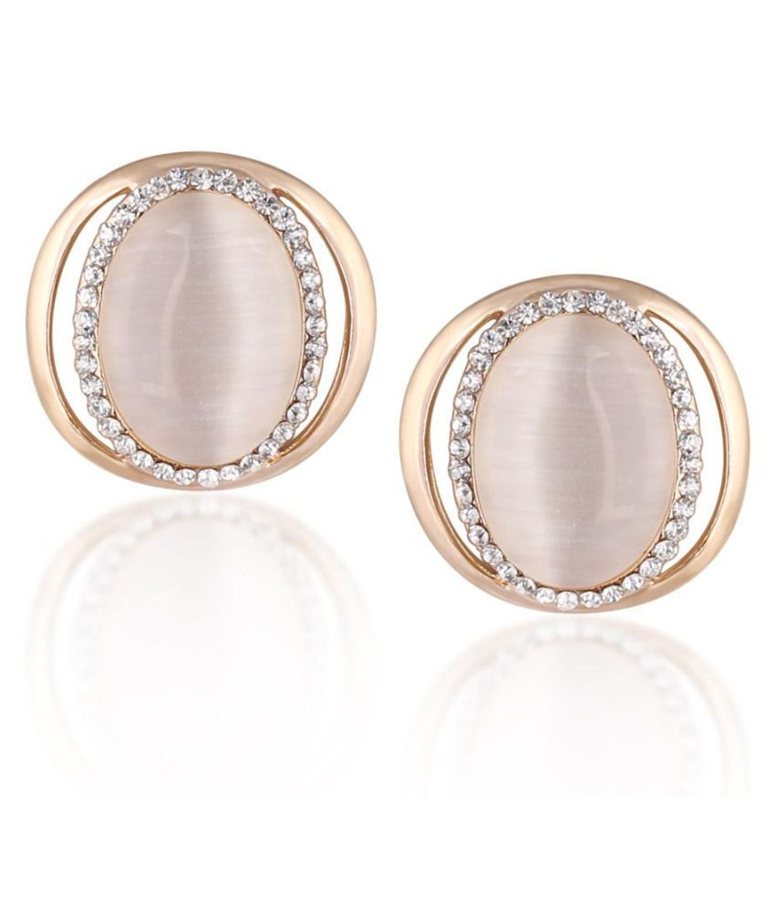 Donatella Brass Earrings