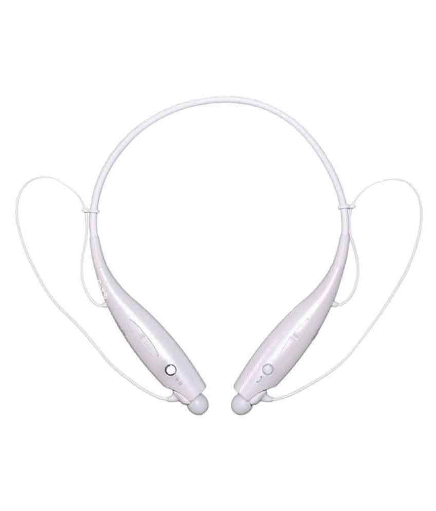Jiyanshi Wireless Bluetooth Headphone White